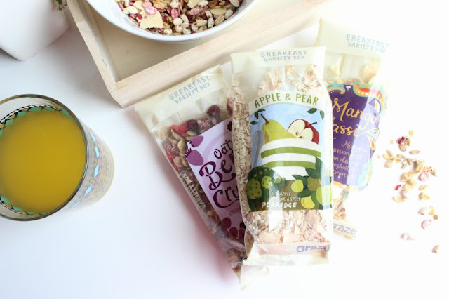 Graze Breakfast Box Review