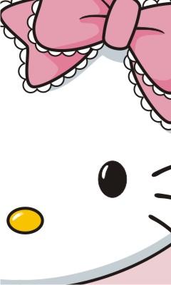 Hello Kitty Face Wallpaper