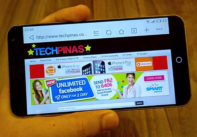 Meizu MX4, TechPinas