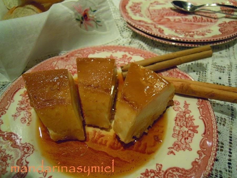 Pudin de pan con canela cocina for Facilisimo cocina postres