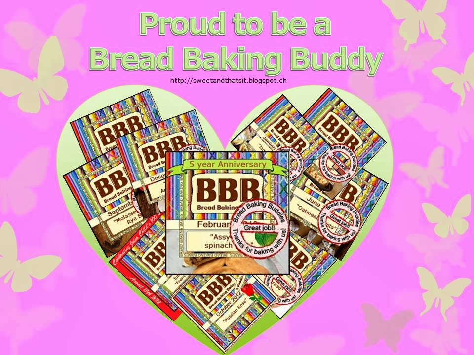 Proud to be a Bread Baking Buddy: Recipes - Ricette