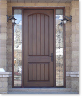 Entry doors with sidelights for 9 foot exterior doors