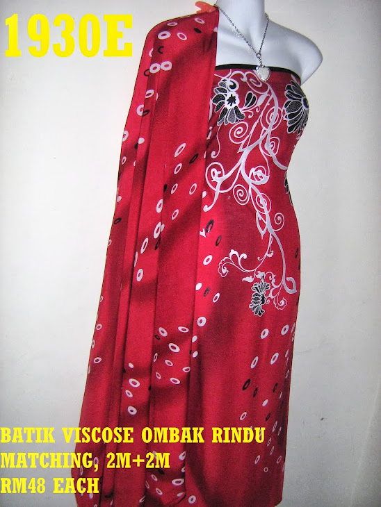 BVM 1930E: BATIK VISCOSE OMBAK RINDU MATCHING, EXCLUSIVE DESIGN, 2M+2M