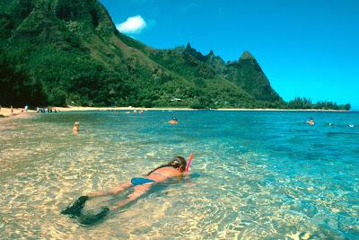 Hanalei Bay en Hawai - que visitar