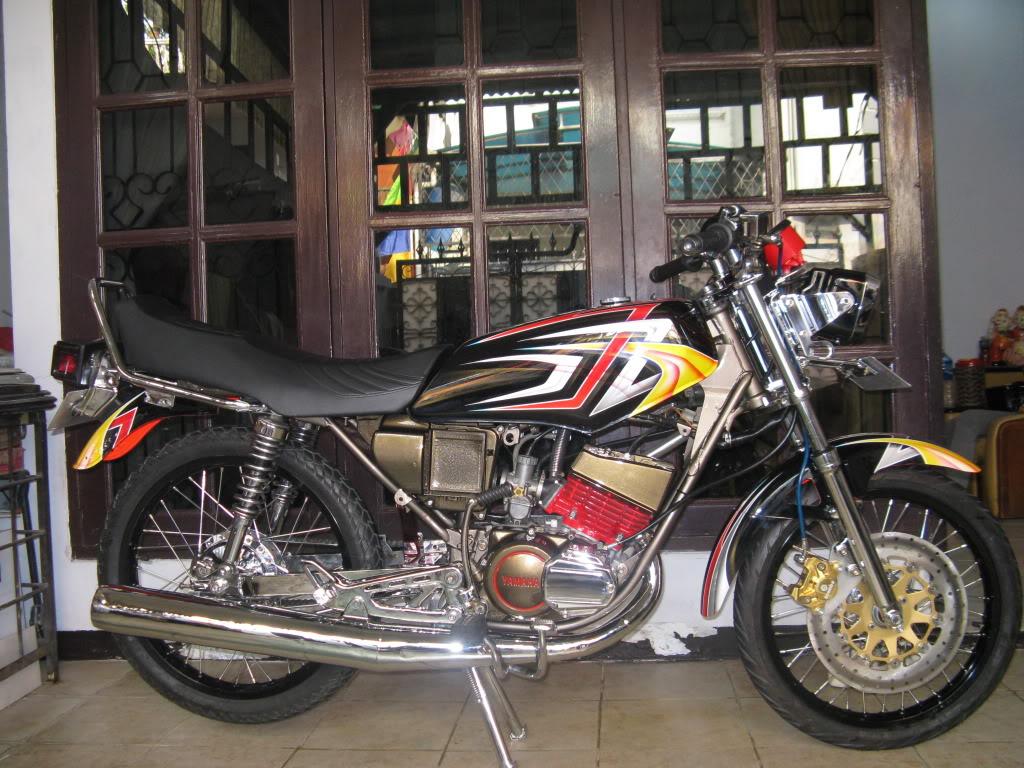 Image Foto Gambar Modifikasi Motor Air Brush Rx King Dan Matic Ada ...
