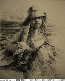 Anne Bonny by Ciana Pullen (detailed description in caption below)