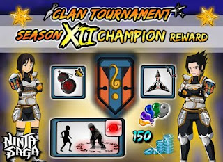 CHEAT CLAN REWARD NINJA SAGA [ TERBARU ]