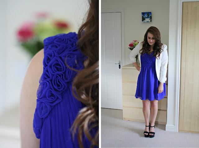 Little-Mistress-cobalt-plunge-neck-floral-applique-prom-dress