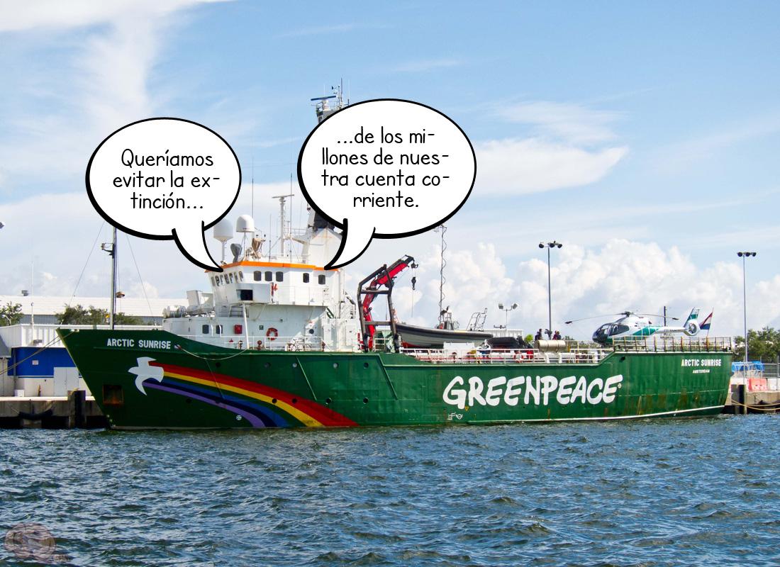 La verdadera paz verde