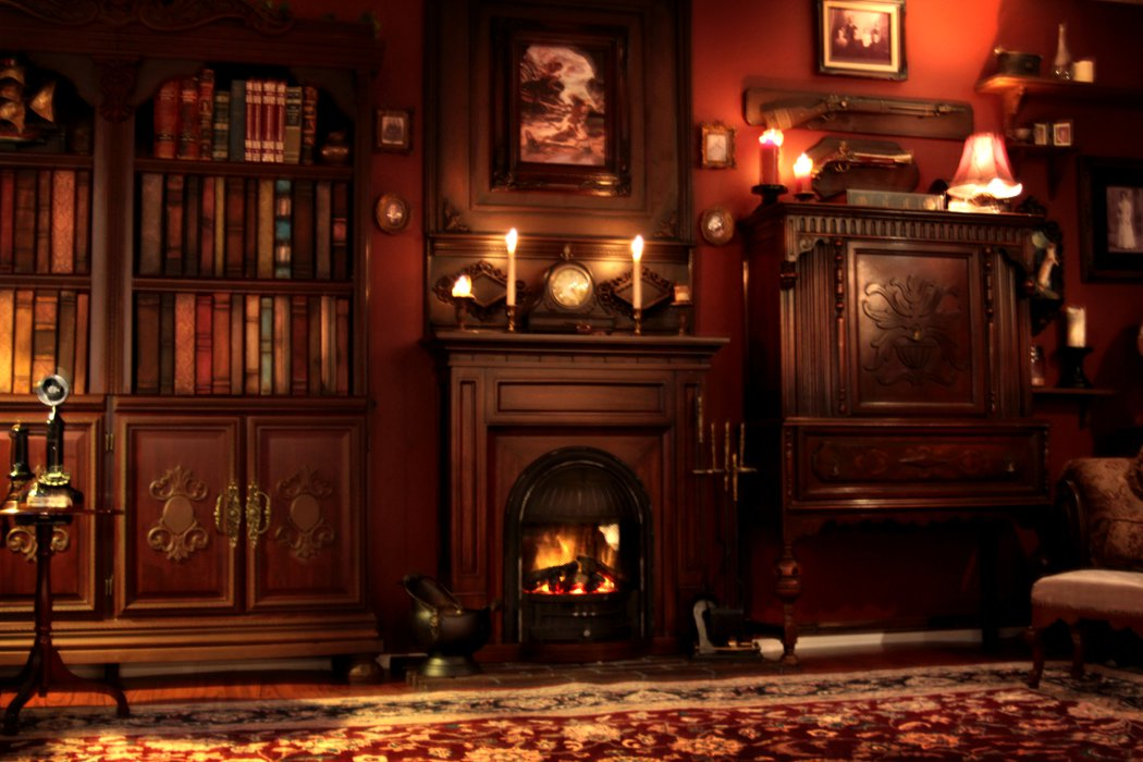 The muse 39 s library most beautiful libraries for Steampunk living room ideas