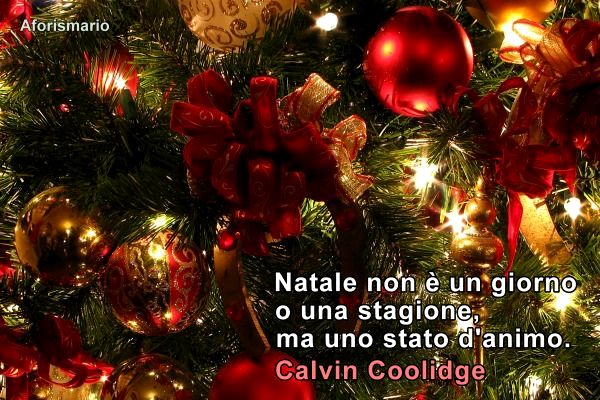 Famoso Aforismario®: Natale - Bellissime frasi e proverbi natalizi EF88