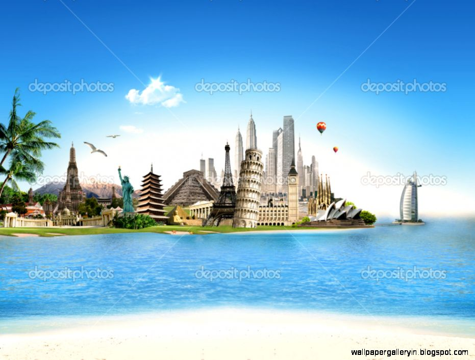 World tourism travel wallpaper wallpaper gallery for All around the world cruise