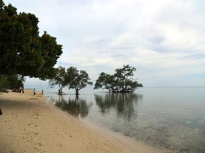 pulau memperak belitung