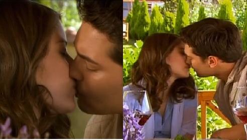 Fariha and Amir Romantic Kissing