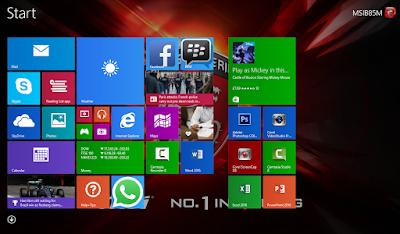 Cara Menambahkan Menu Start Screen Yang Hilang Pada Windows 8/ 8.1
