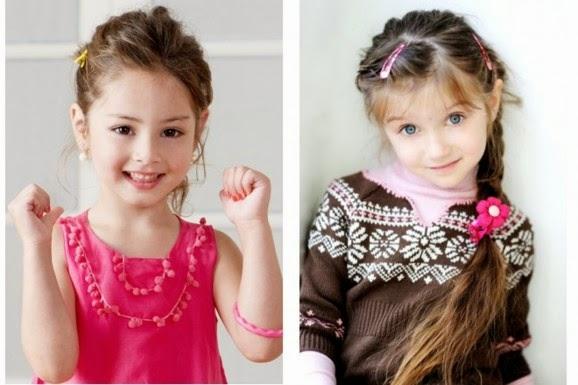 تسريحات شعر اطفال وقصات شعر بنات