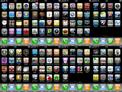 Collection of iPhone iPad iPod Paid Apps