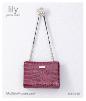 Miche Bag Lily Petite Shell, Plum Purse
