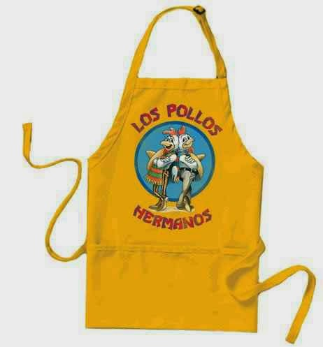 Delantal Breaking Bad Los Pollos Hermanos