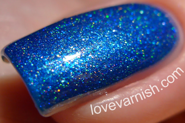 Too Fancy Lacquer Keep Calm and Sparkle
