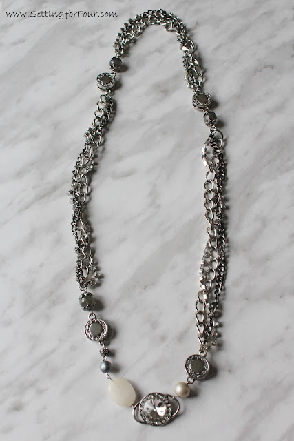 DIY Interchangeable Jewelry, Prima Bead from Setting for Four #Jewelry #Necklace #Ring