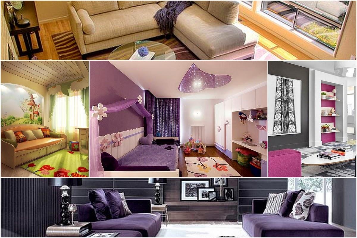 Living Rooms Quiet Colors Interior Design