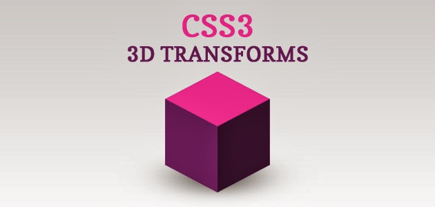 how to make a 3d transforms in css3