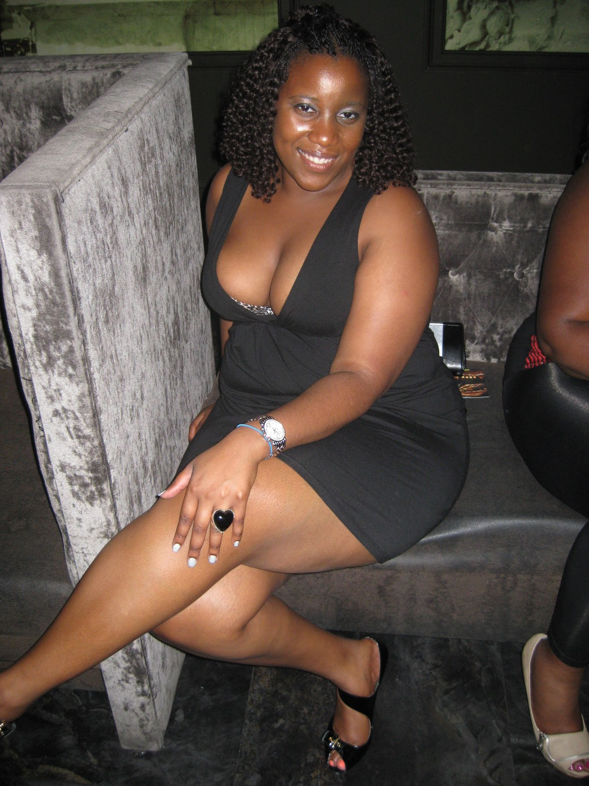 More busty ebony bbw