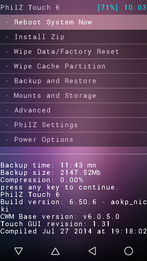 Install CWM 6.0.4.9 di Sony Xperia M (Single atau Dual SIM) Terbaru!