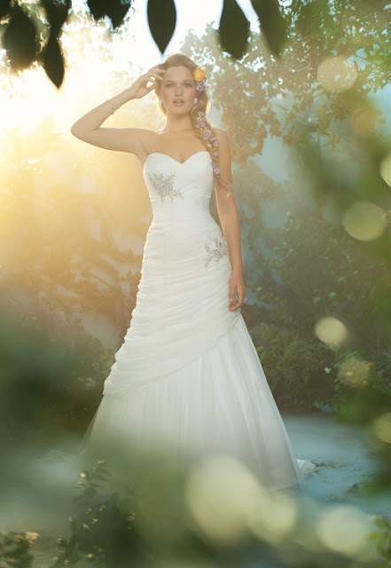 The 2013 Alfred Angelo Disney Fairy Tale Wedding Gowns - Rapunzel