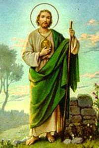 st. jude thaddaeus essays 1 prayers to st jude glorious apostle, st jude thaddeus, i salute you through the sacred heart of jesus through his heart i praise and thank god for all the graces.