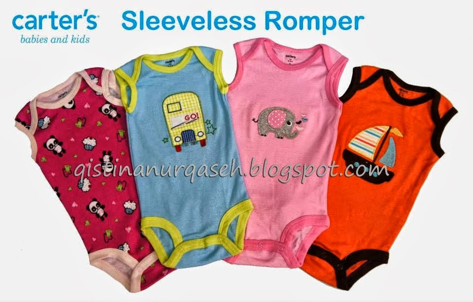 Carters Sleeveless Romper