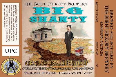 The Burnt Hickory Brewing Company - Big Shanty Graham Cracker Stout