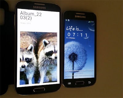 Galaxy S4 dan Galaxy S4 Mini