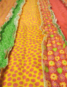 A Baby Flannel Rag Quilt Tutorial