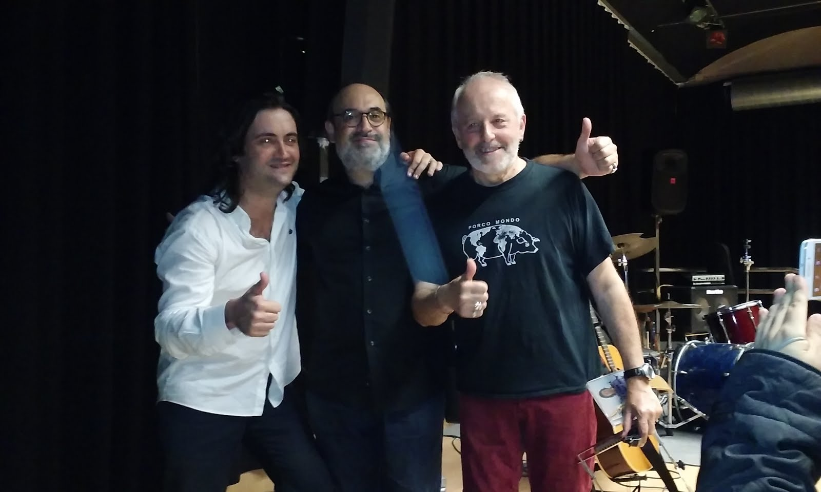 Amb Javi Jareño i Jordi Batiste