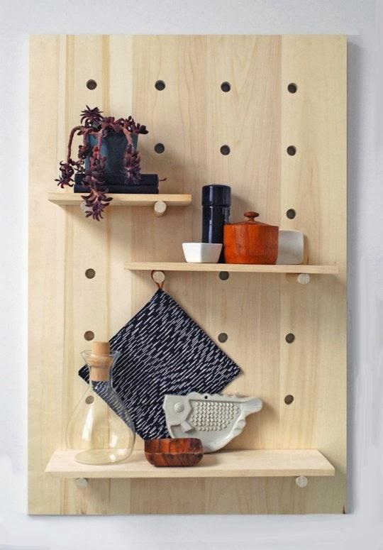 ma maison au naturel une tag re moderne faire soi m me. Black Bedroom Furniture Sets. Home Design Ideas