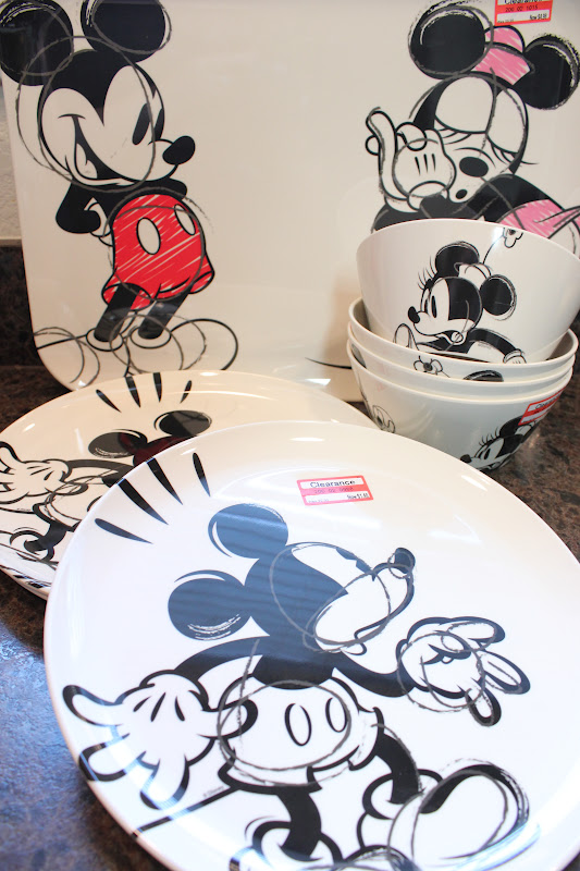 Disney Dishes on Sale at Target!! & The Disney Diner: Disney Dishes on Sale at Target!!