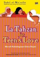 Free Download Ebook Gratis Buku Gratis Indonesia La Tahzan For Teen's Love Lengkap