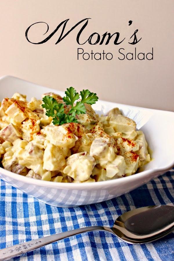 Mom's Potato Salad: simple, delicious and easy to prepare! #salad #potato
