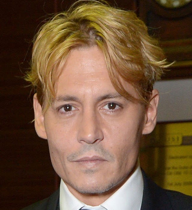 johnny depp blonde hair, blond hair