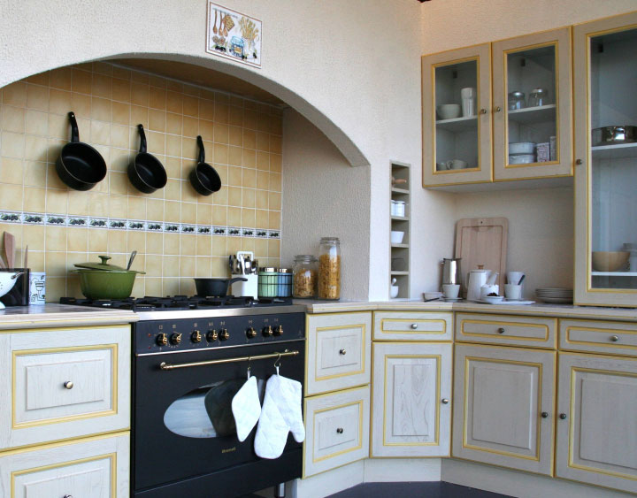 Decoration De Cuisine Simple : Cuisine decoration style ordinaire