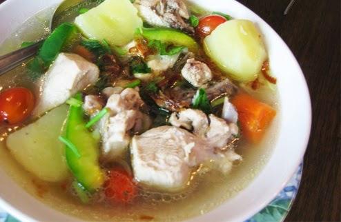 Resep Membuat Sup Ayam