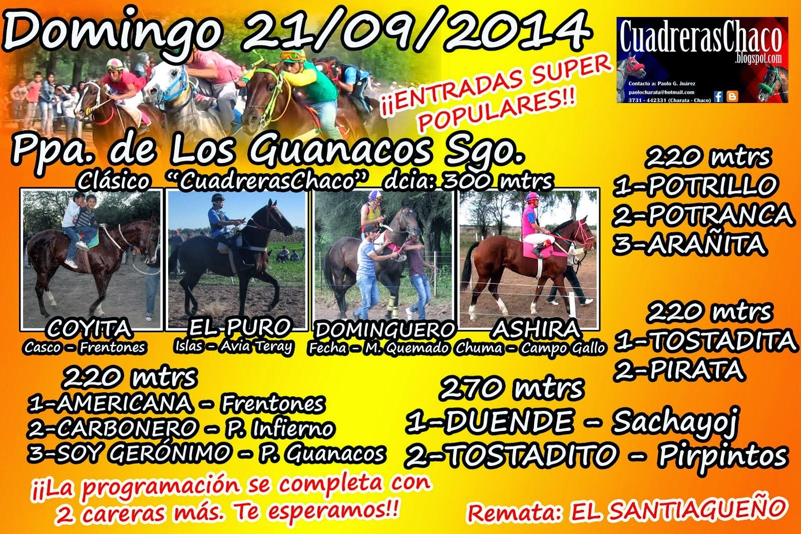 GUANACOS 21-9