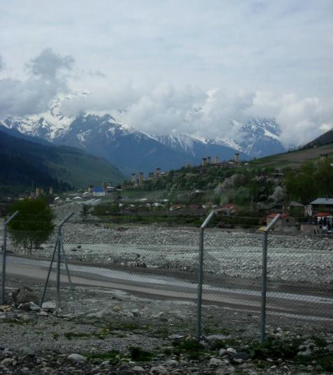 View of Mestia ...