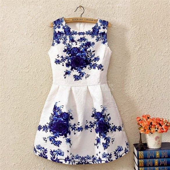 Robe fleurie - Floral pattern Dress