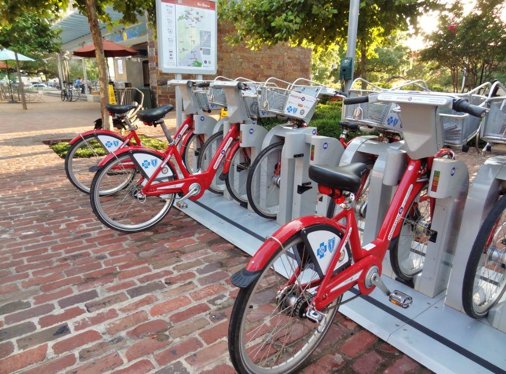 Alternative Transportation Options Downtown Houston
