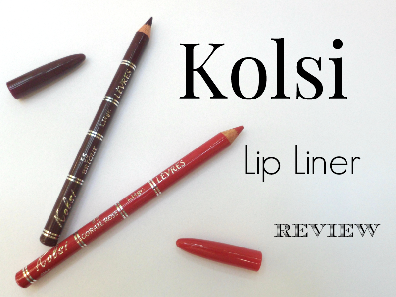 Kolsi Lip Liner - Review And Swatches