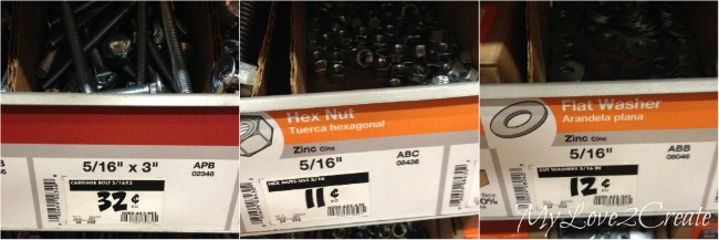 buying zinc hex screws and nuts and bolts