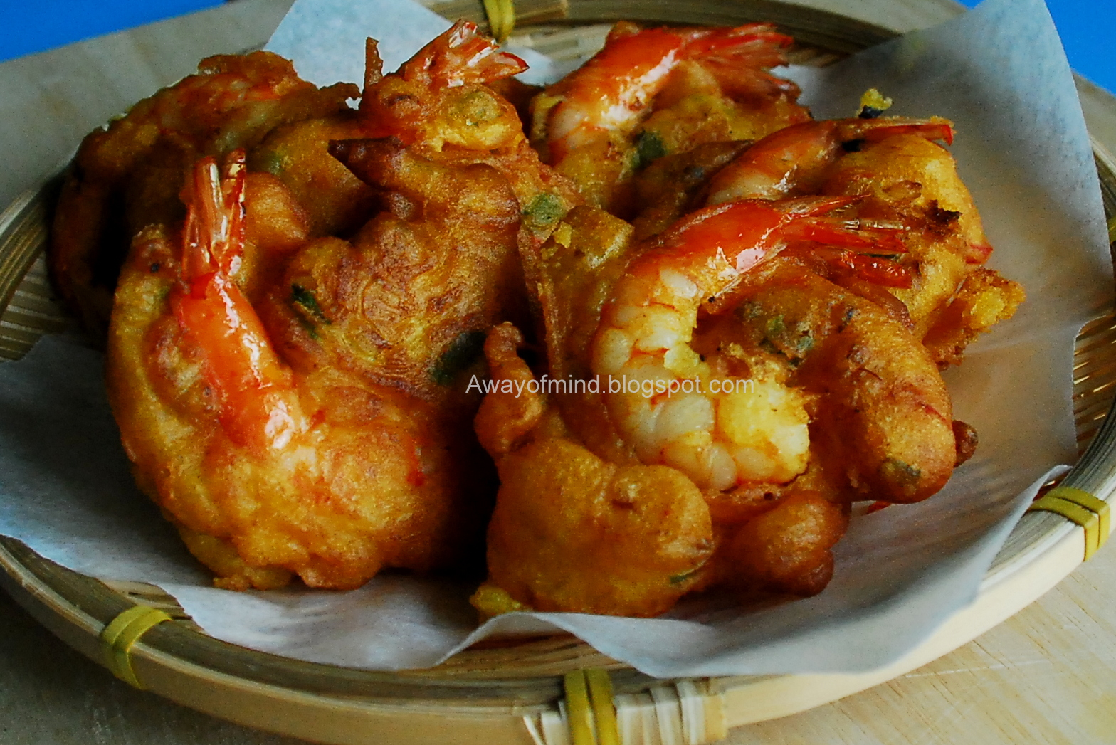 Awayofmind Bakery House: Prawn Fritters (Cucur Udang)